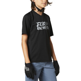 Fox Defend SS Jersey Youth, black